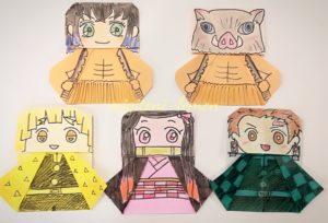 origami-kimetsu-yaiba-character