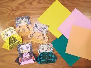 origami-100yen-daiso-kimetsu