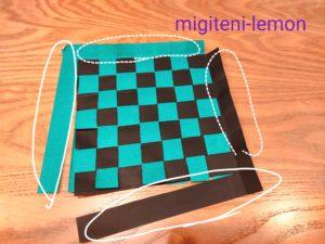 kimono-pattern-tanjirou-kimetsu-origami
