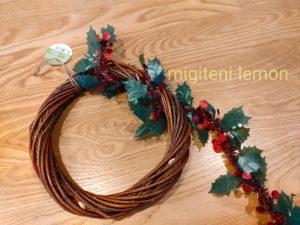 daiso-christmas-wreath2020-craft