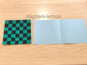 ichimatsu-kamado-tanjirou-origami-daiso-100