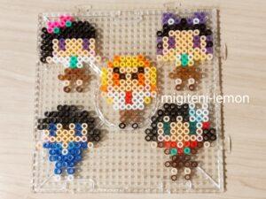 daiso-handmade-kimetsu-gakuen-ironbeads