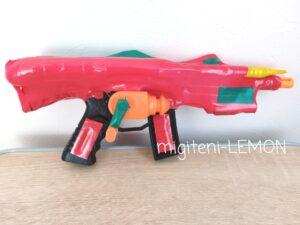 kids-toy-daiso-gun-handmade-arrange