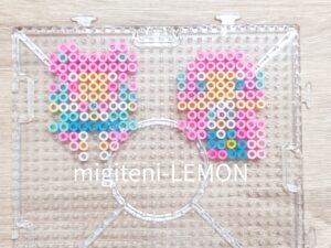precure-pink-mermaid-zuan-beads-handmade