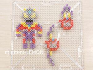 daiso-plate-ironbeads-ultraman-kids