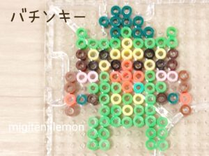 bachinkey-thwackey-pokemon-beads-daiso-galar-zuan