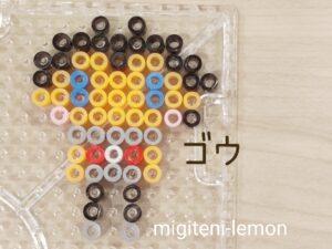 gou-anipoke-zuan-iron-beads-square-kawaii