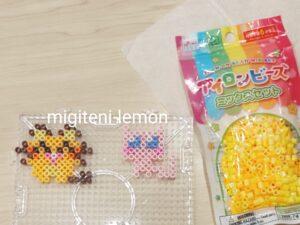 kawaii-dedenne-mew-pokemon-ironbeads-small-daiso