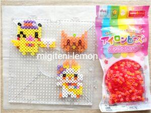 pokemon-kawaii-pikachu-hibanii-morupeko-ironbeads-halloween-zuan