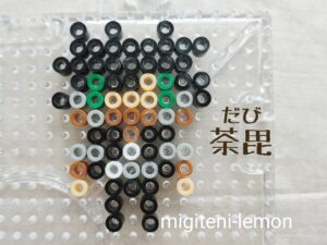 villan-heroacademia-ironbeads-dabi-handmade-kawaii-zuan