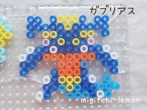 gaburiasu-garchomp-small-handmade-kawaii-ironbeads-zuan