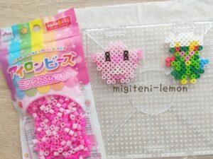 lucky-chansey-rozureido-roserade-pokemon-handmade-ironbeads-daiso-square