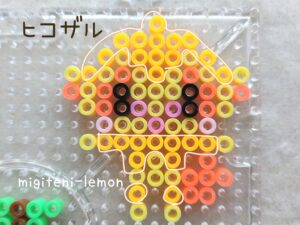 hikozaru-monkey-kawaii-ironbeads-square-pokemonperl-ironbeads-zuan