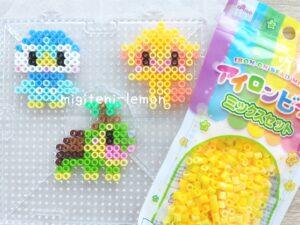 pocchama-hikozaru-naetoru-kawaii-pokemon-perl-ironbeads-square-zuan
